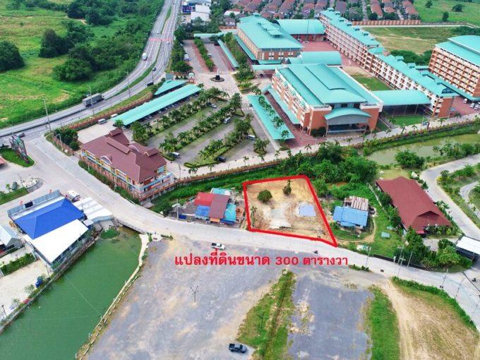 ที่ดินหน้าตลาด พานหิน ฟู้ด มาเก็ต ติดโรงเรียนมาลีวิทย์